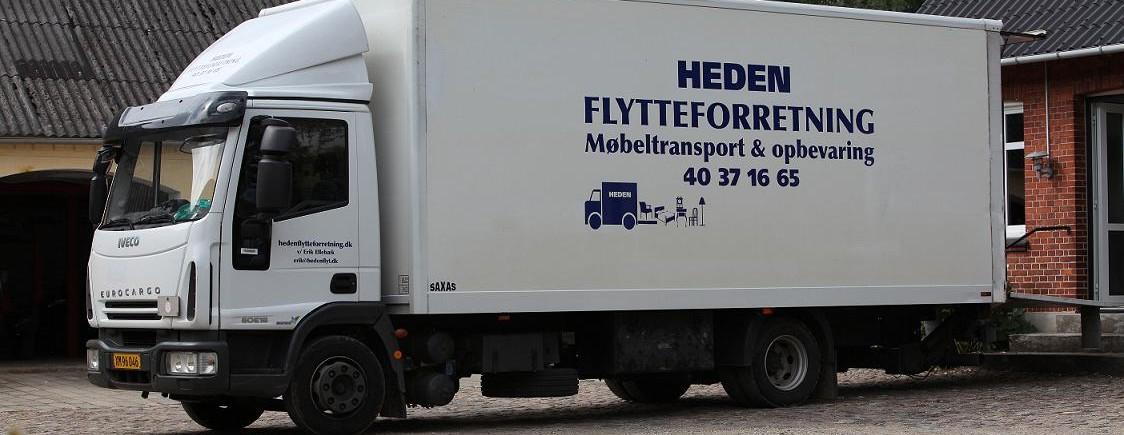 Flyttebil - Heden Flytteforretning
